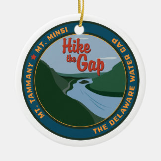 Hike the Gap Christmas Ornament