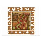 Hike, Trek Postcard