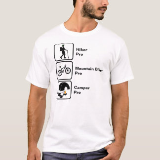 Hiker, Mountain Biker, Camper T-Shirt