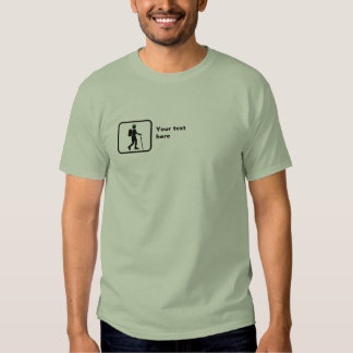 Hiker -- Small Logo -- Customizable T-shirt