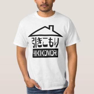 Hikikomori 引きこもり Japanese Recluse T Shirts