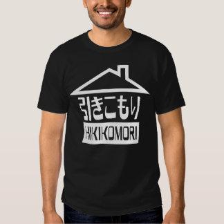 Hikikomori 引きこもり Japanese Recluse Tshirts
