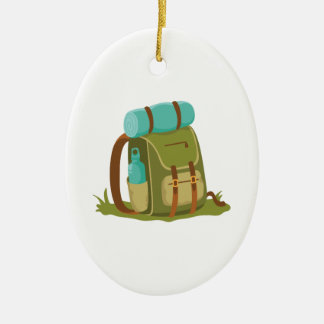Hiking Backpack Christmas Ornament