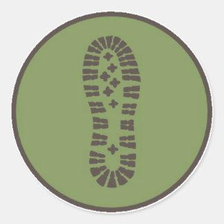 Hiking Boot Sticker