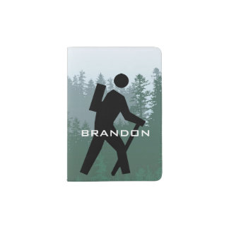 Hiking Design Passport Cover