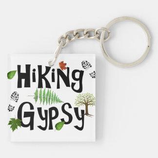 Hiking Gypsy Key Chain