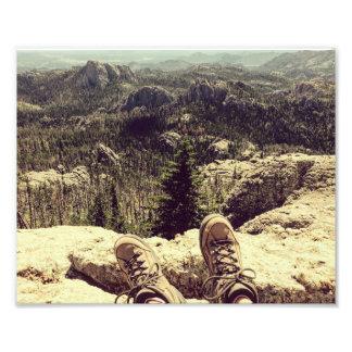 Hiking Harney Peak Art Photo