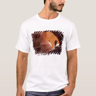 Hiking in the Corkscrew section of Antelope T-Shirt