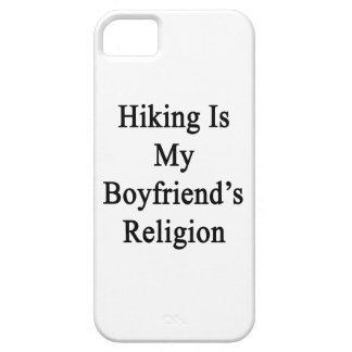 Hiking Is My Boyfriend's Religion iPhone 5 Covers