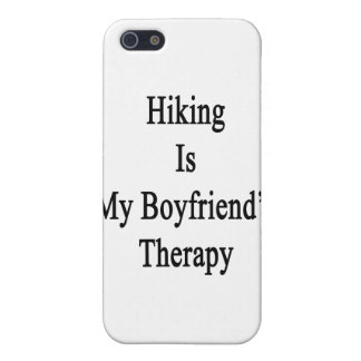 Hiking Is My Boyfriend's Therapy iPhone 5 Cover