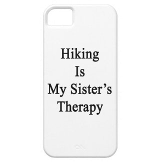 Hiking Is My Sister's Therapy iPhone 5 Covers