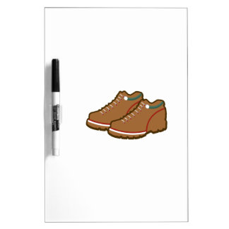 Hiking Shoes Dry-Erase Board