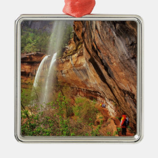 Hiking The Emerald Pools Trail in Zion National Christmas Ornament