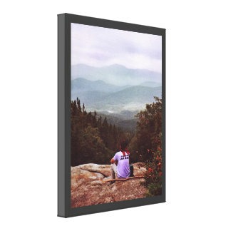 Hiking the Wilderness Gallery Wrap Canvas