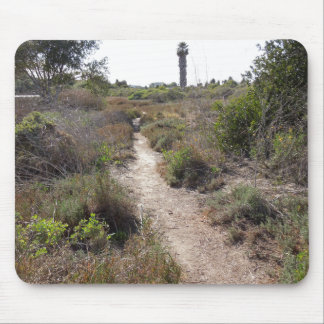 Hiking Trail at Andree Clark Bird Refuge Mouse Pad