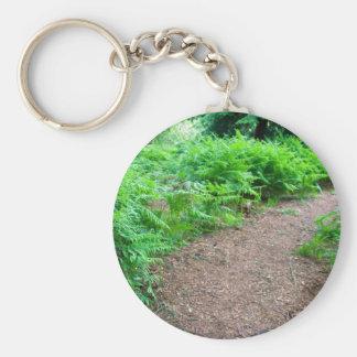 Hiking Trail Key Chain