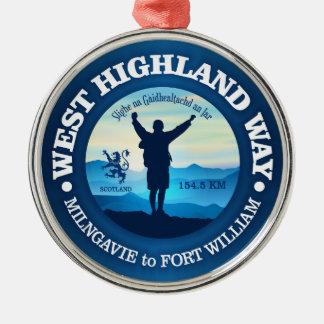 Hiking (West Highland Way) Christmas Ornament