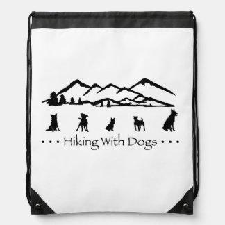 Hiking With Dogs SlingBag Backpacks