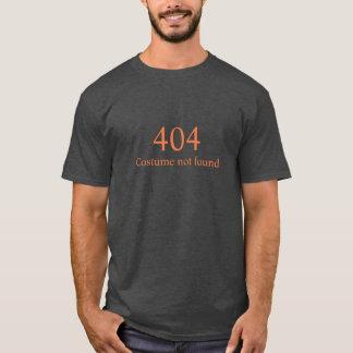 Hilarious 404 error costume not found Halloween T-Shirt