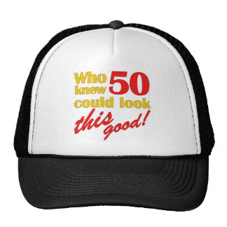 Hilarious 50th Birthday Gifts Cap