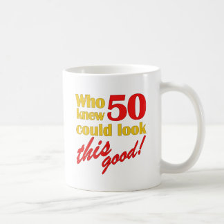 Hilarious 50th Birthday Gifts Coffee Mug