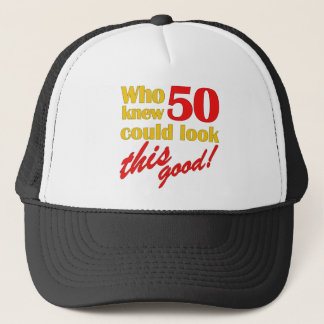 Hilarious 50th Birthday Gifts Trucker Hat