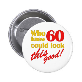 Hilarious 60th Birthday Gifts Pins