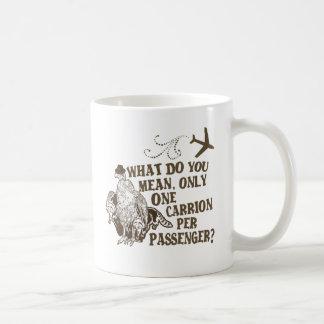 Hilarious Airline Joke Shirt Basic White Mug