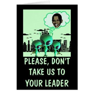 Hilarious anti Obama Card