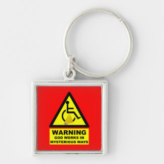 Hilarious atheist key ring