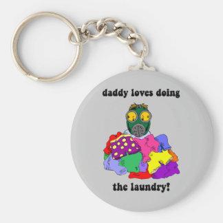 Hilarious dad key ring