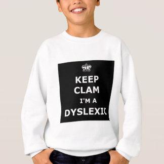 Hilarious dyslexic sweatshirt