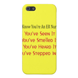 Hilarious ER Nurse Gifts iPhone 5 Covers