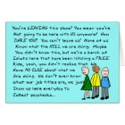 Hilarious Group  Co-Worker Leaving Card III