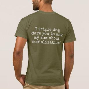 Hilarious Homeschool T-shirt for teens