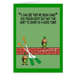 Hilarious Irish birthday Greeting Card