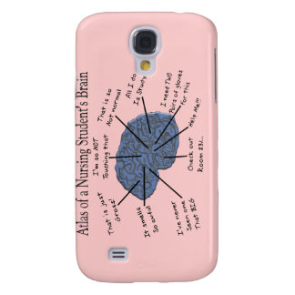 "Hilarious Nursing Student ""Brain"" Gifts Galaxy S4 Case"