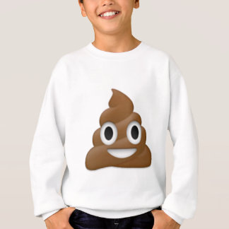 Hilarious poop-emoji - Poo cartoon design Sweatshirt