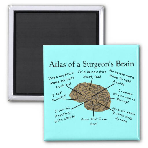 Hilarious Surgeon Gifts Refrigerator Magnets