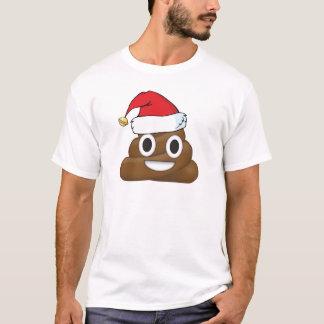 Hilarious Xmas Poop Emoji T-Shirt