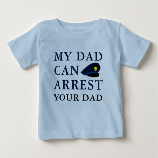 Hilariously Funny Police Officer Baby Joke Baby T-Shirt