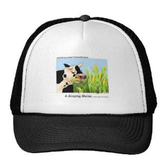 Hilarous Cow Cap Mesh Hats