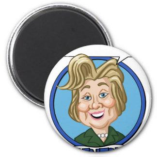 Hilary Clinton Election 2016 6 Cm Round Magnet