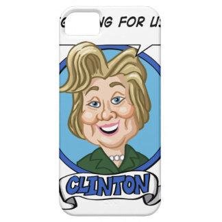 Hilary Clinton Election 2016 iPhone 5 Case