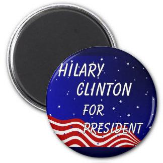Hilary Clinton For President Night Sky Magnet