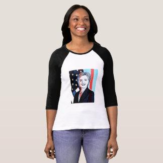 Hilary Clinton Memorabilia  Digital Art Shirt
