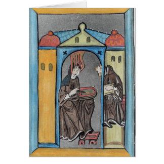 Hildegard of Bingen Greeting Cards