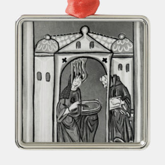 Hildegard of Bingen Christmas Ornament