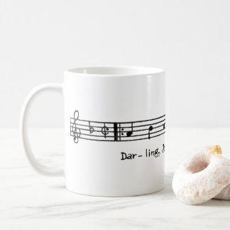 "Hildegarde ""Darling, Je Vous Aime Beaucoup"" Mug"