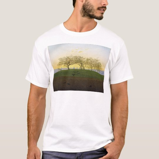 Hill and Ploughed Field Near Dresden T-Shirt